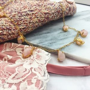 Ann Taylor Jewelry - Rosy Stone Necklace