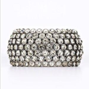 Ann Taylor Swarovski Crystal Stretch Bracelet