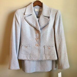 Tahari Dresses & Skirts - ❗️NWT | Arthur Levine Tweed Skirt Suit Set