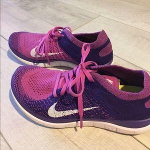 Nike Shoes - Women's Nike free 4.0 purple size 7