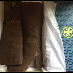 Tory Burch Shoes - Tory Contraire tall suede boots