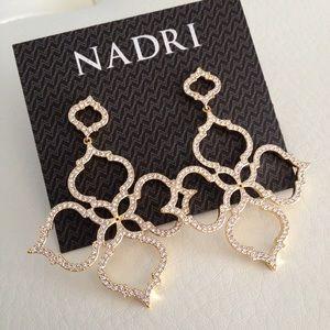 NADRI Jewelry - Nadri Mandala Crystal Drop Earrings