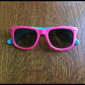 UO pink and blue sunglasses