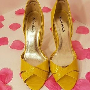 Like new Michael Antonio Open toe heels size 7