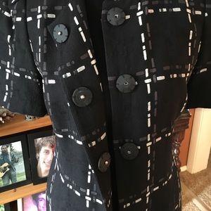 Wool Blend Dress Coat by Semantiks