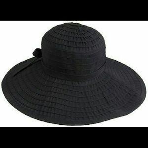 San Diego Hat Company Accessories - San Diego Hat Co. Large Brim Black Sun Hat