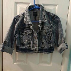 Highway Jeans Jackets & Blazers - Highway jeans jacket cropped medium vintage wash