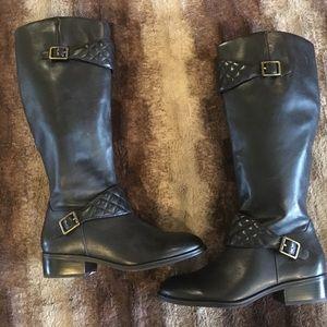 Ralph Lauren black boots