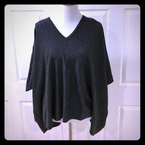 Polo by Ralph Lauren Sweaters - Polo Ralph Lauren Grey Merino Wool Poncho NWT!