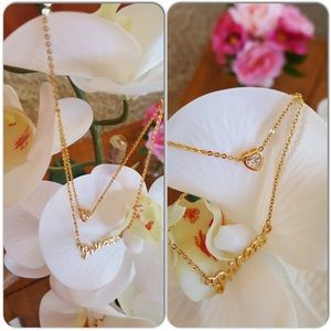 Jewelry - Double layers Princess necklace