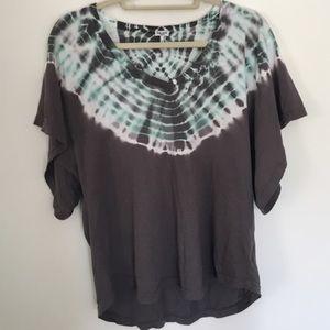 Splendid Tops - ✌️Splendid gray tie dyed boho t-shirt