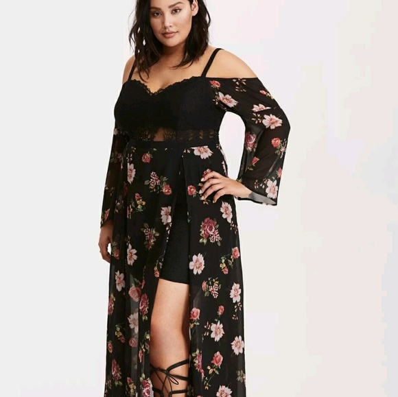 a71903c961f Iso Torrid Insider Floral Maxi Dress