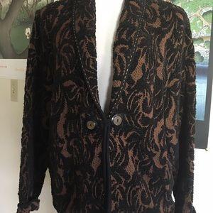 Flashback Cotton Jacket Soft Chenille Runs Large M