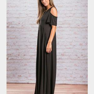 Dresses & Skirts - Canvas Black Maxi dress