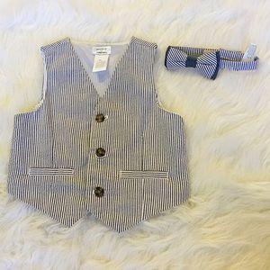 Gymboree Other - Gymboree Vest and Bow Tie