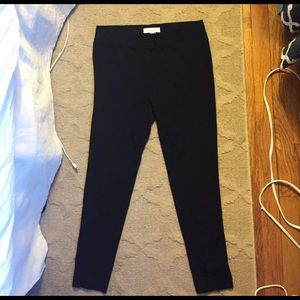 Two by Vince Camuto black leggings