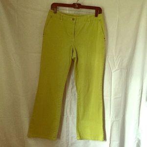Denim - Lime boutique pants