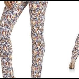 Kardashian Kollection multi-print skinny jeans