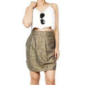 Anthropologie Tracy Reese tweed skirt