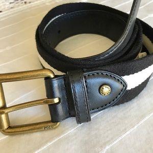 Polo by Ralph Lauren Other - Polo Ralph Lauren Belt Black & Cream size 34 B87