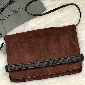 All Saints Handbags - 💲⬇️⭐️HP⭐️All Saints Club Large Clutch/Crossbody