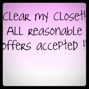🎉All reasonable offers will be accepted🎉