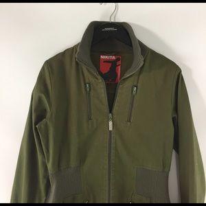 nikita Jackets & Coats - Nikita Olive Green Snowboard Jacket