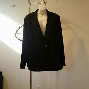 Marina Rinaldi Jackets & Blazers - Marina Rinaldi Black Blazer NWOT