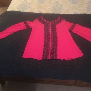 Altar'd State Tops - Altar'd State Bell Sleeved Blouse