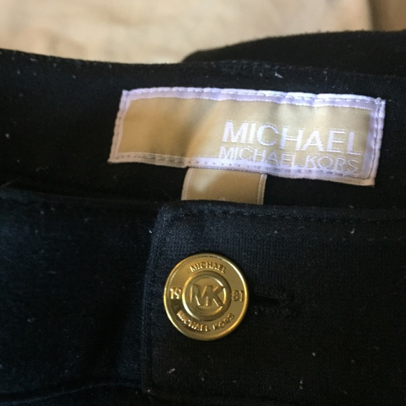 Michael Kors Denim - MICHAEL KORS BLACK Skinny PANTS