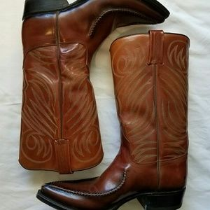 Dan Post Other - Dan Post Cowboy Boots Brown, 9 Italy, Brown LOOK!