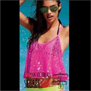 🎈NWT PINK Victoria's Secret bathing suit cover up