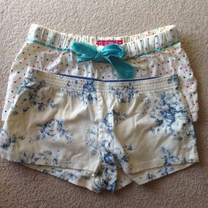 Charlotte Russe Other - 2 Pairs of PJ Shorts