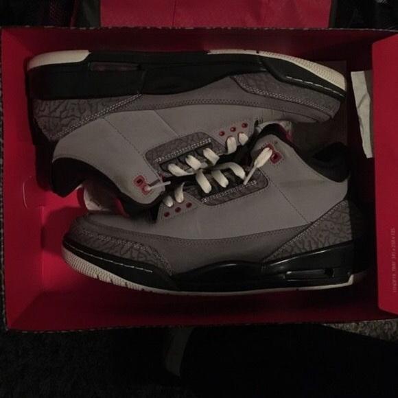 Shoes | Jordan 3 Grey Suede | Poshmark