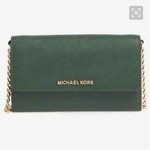 NWOT Michael Kors Large Phone Travel Crossbody
