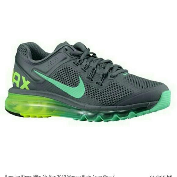 cheap for discount 3db56 38ca5 Nike Air Max Running Slate Army Grey Green. M 58b0cc914e95a3f60103f830