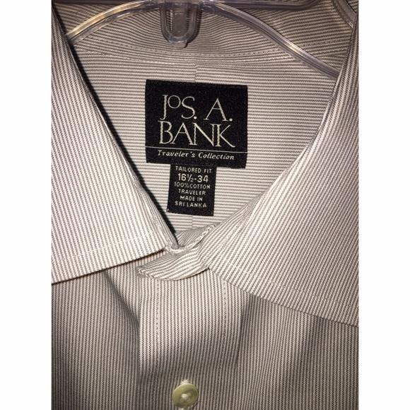 JOS A Banks  Shirts - New JOS A Banks Long sleeve button down