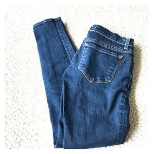 J Brand Denim - J Brand- Indigo Low Rise Crop Skinny Jeans NWOT