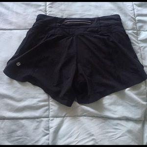 lululemon athletica Pants - Lululemon black breathable loose shorts