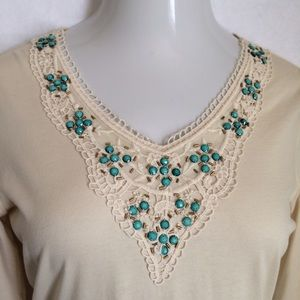 Reba Tops - Reba embellished top