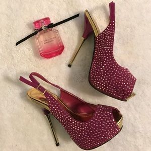 Shoedazzle Shoes - Adorable shoedazzle sling backs