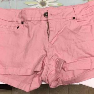 Forever 21 pink shorts  size 28