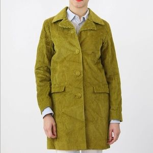 Missoni Jackets & Blazers - Green Marigold Missoni for target corduroy trench