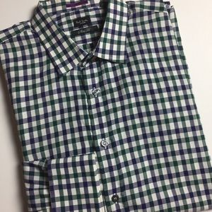 Paul Smith Other - Paul Smith London Slim Fit Plaid Dress Shirt