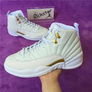 Drakes Other - Air Jordan 12 White OVO