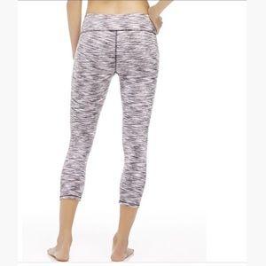 Fabletics Pants - Pink, black, and gray Fabletics leggings