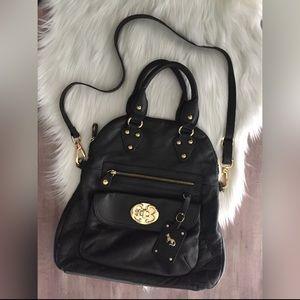 Emma Fox Handbags - Emma Fox Leather Black Crossbody Bag