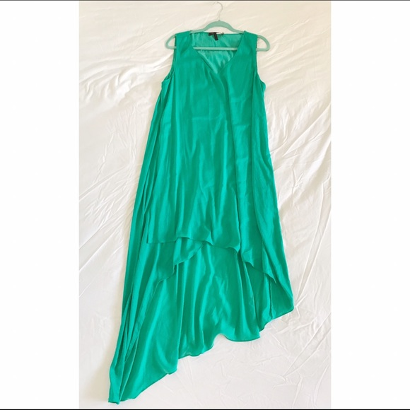 BCBG Dresses - BCBG Emerald Green Dress