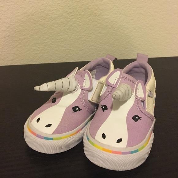 Vans Shoes | Toddler Asher V Unicorn