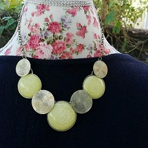Jewelry - Yellow statement necklace